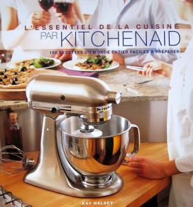 livre de recette kitchen aid